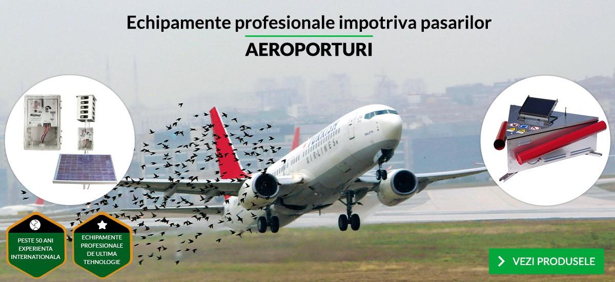 Echipamente profesionale impotriva pasarilor - AEROPORTURI
