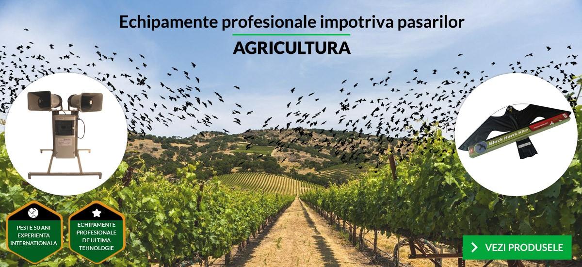 Echipamente profesionale impotriva pasarilor - AGRICULTURA