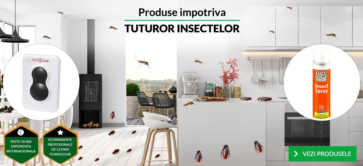 Produse impotriva tuturor insectelor