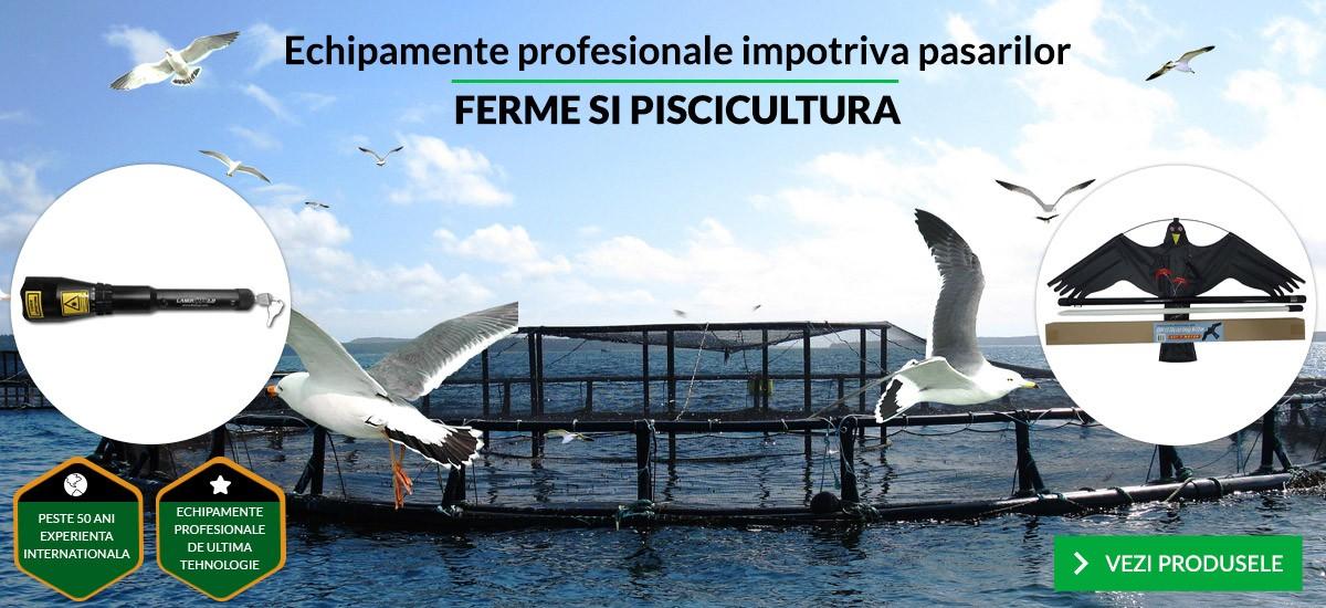 Echipamente profesionale impotriva pasarilor - FERME SI PISCICULTURA