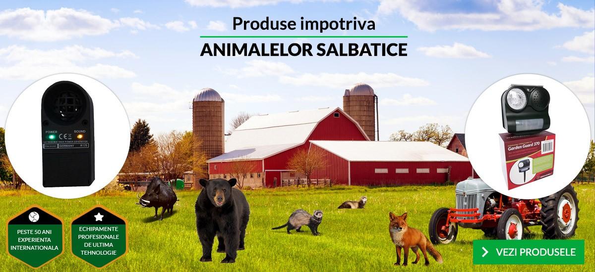 Produse impotriva animalelor salbatice